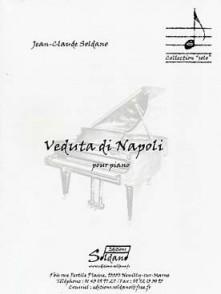 SOLDANO J.C. VEDUTA DI NAPOLI PIANO