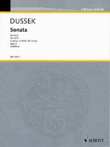 DUSSEK J.L. SONATE DO MINEUR HARPE