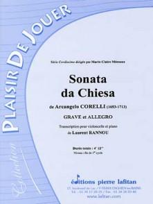 CORELLI A. SONATA DA CHIESA VIOLONCELLE