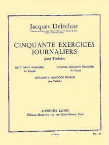 DELECLUSE J. EXERCICES JOURNALIERS (50) TIMBALES