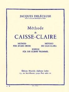 DELECLUSE J. METHODE CAISSE CLAIRE