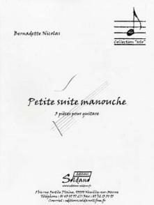 NICOLAS B. PETITE SUITE MANOUCHE GUITARE