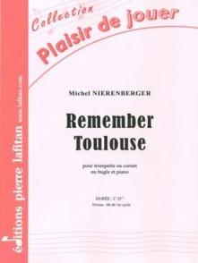 NIERENBERGER M. REMEMBER TOULOUSE TROMPETTE