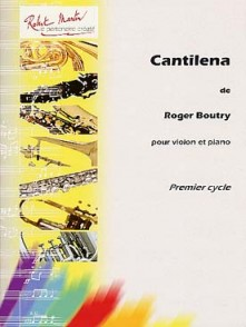 BOUTRY R. CANTILENA VIOLON