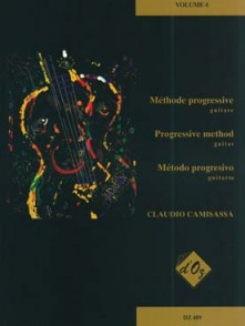 CAMISASSA C. METHODE PROGRESSIVE VOL 4 GUITARE