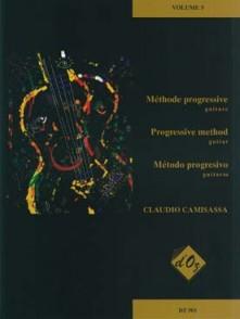 CAMISASSA C. METHODE PROGRESSIVE VOL 5 GUITARE