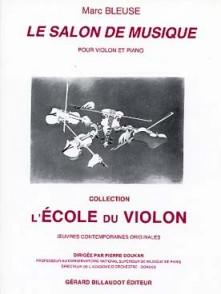 BLEUSE M. LE SALON DE MUSIQUE VIOLON