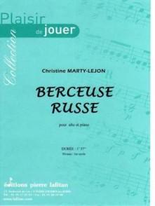 MARTY-LEJON C. BERCEUSE RUSSE ALTO