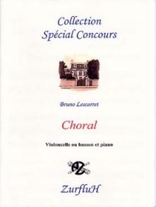 LESCARRET B. CHORAL BASSON OU VIOLONCELLE