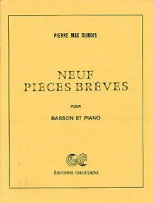 DUBOIS P.M.  PIECES BREVES BASSON