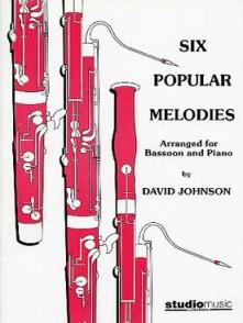 JOHNSON D. SIX POPULAR MELODIES BASSON