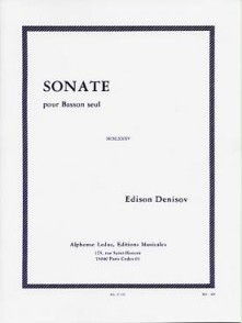 DENISOV E. SONATE BASSON