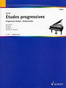 FERTE A. ETUDES PROGRESSIVES VOL 1B PIANO