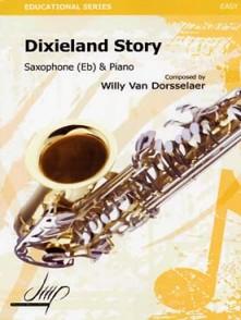 VAN DORSSELAER W. DIXIELAND STORY SAXO ALTO