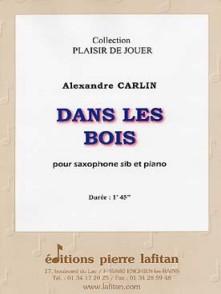 CARLIN A. DANS LES BOIS SAXO SIB
