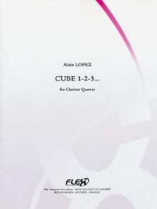 LOPEZ A. CUBE 1-2-3... CLARINETTES