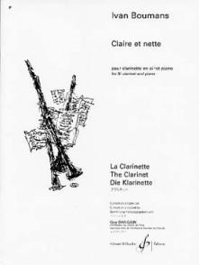 BOUMANS I. CLAIRE ET NETTE CLARINETTE