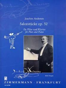ANDERSEN J. SALONSTUCKE OP 52 FLUTE