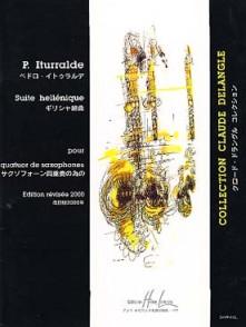 ITURRALDE P. SUITE HELLENIQUE 4 SAXOS