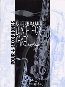 ITURRALDE P. DIXIE FOR SAXES 4 SAXOS