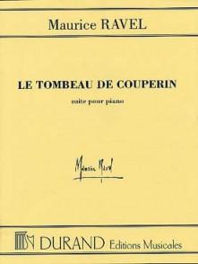 RAVEL M. LE TOMBEAU DE COUPERIN PIANO