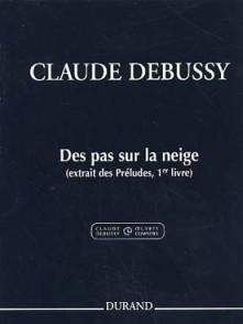 DEBUSSY C. DES PAS SUR LA NEIGE PIANO