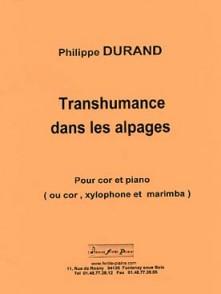 DURAND P. TRANSHUMANCE DANS LES ALPAGES COR