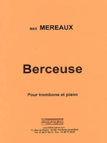 MEREAUX M. BERCEUSE TROMBONE