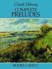 DEBUSSY C. COMPLETE PRELUDES PIANO