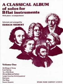 A CLASSICAL ALBUM OF SOLOS SAXHORN ALTO