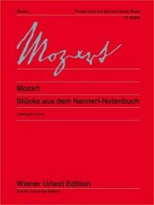 MOZART L. PETIT LIVRE DE NANNERL PIANO