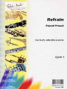PROUST P. REFRAIN COR OU SAXHORN ALTO