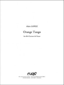 LOPEZ  A. ORANGE TANGO CLARINETTE