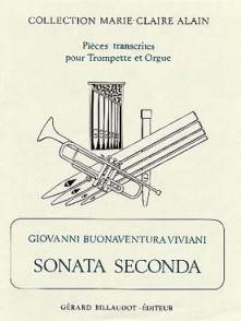 VIVIANI G.B. SONATA SECONDA TROMPETTE