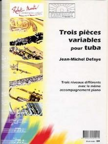 DEFAYE J.M. PIECES VARIABLES TUBA