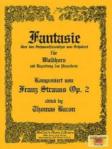 STRAUSS F. FANTAISIE OP 2 SUR UN THEME DE SCHUBERT  COR