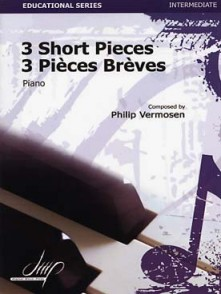 VERMOSEN P. PIECES BREVES PIANO