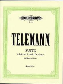 TELEMANN G.P  SUITE A MINOR FLUTE