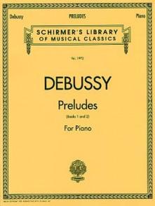 DEBUSSY C. PRELUDES PIANO