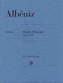 ALBENIZ I. CHANTS D'ESPAGNE OP 232 PIANO