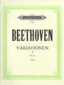 BEETHOVEN L.V. VARIATIONS VOL 1 PIANO