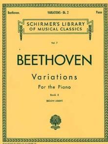 BEETHOVEN L. VARIATIONS VOL 2 PIANO