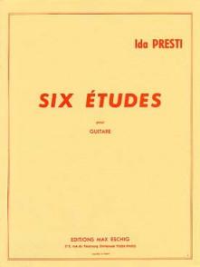 PRESTI I. ETUDES GUITARE