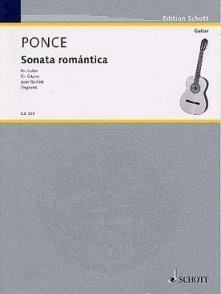 PONCE M.M. SONATA ROMANTICA GUITARE