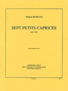 BURGAN P. PETITS CAPRICES ALTO