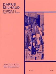MILHAUD D. 1RE SONATE ALTO