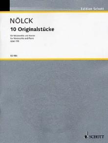 NOLCK A. ORIGINAL STUCKE OP 116 VIOLONCELLE