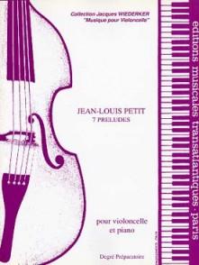 PETIT J.L. PRELUDES VIOLONCELLE