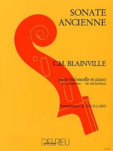 BLAINVILLE C.M. SONATE ANCIENNE VIOLONCELLE