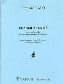 LALO E. CONCERTO RE MINEUR VIOLONCELLE